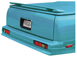 "1978-87 Deck Spoiler, Rear (El Camino) w/o Third Brake Light (60"")"