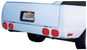 1978-87 El Camino Roll Pan, ZR-1 w/o License Plate Pocket