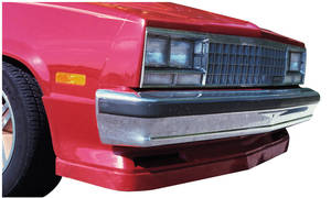 1978-87 Malibu Spoiler with Air Deflector, Front Exc. Monte Carlo
