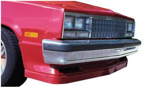 Spoiler with Air Deflector, 1978-87 El Camino & 1978-83 Malibu Front