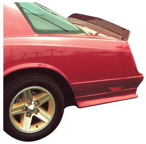 1983-86 Deck Tail, Rear (Monte Carlo) OEM Reproduction