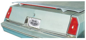 1981-88 Deck Spoiler, Trunk Mount (Monte Carlo) w/Brake Light