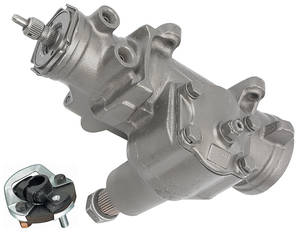 "1980-88 Steering Gearbox, Quick Ratio (Power) El Camino/Monte Carlo, 3/4"" - 30-Spline"