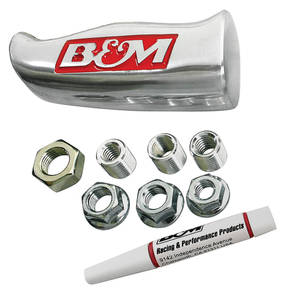 1961-73 LeMans Shifter Handle Brushed Aluminum, by B&M