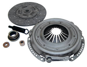"1964-77 Bonneville Clutch Set, OEM Replacement 10-1/2"" 10-Spline"