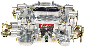 Carburetor, 800 CFM Manual Choke, by Edelbrock