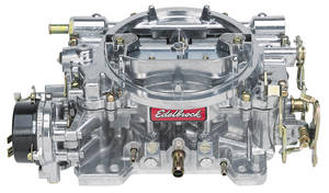 Carburetor, 800 CFM Square-Bore, Electric Choke (Non-EGR), by Edelbrock