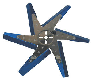 1978-88 Monte Carlo Flex Fan, High-Performance Blue Blades