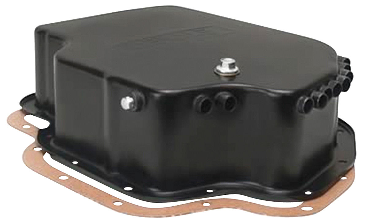 Photo of Transmission Pan with Built-In Air Cooler Tube TH400