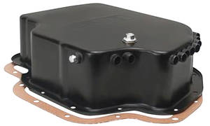 Transmission Pan w/Built-In Air Cooler Tube (TH400)
