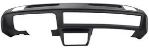 1981-88 Monte Carlo Dash Pad Outer Shell, Molded Full Face - Side Speakers, by Dashtop