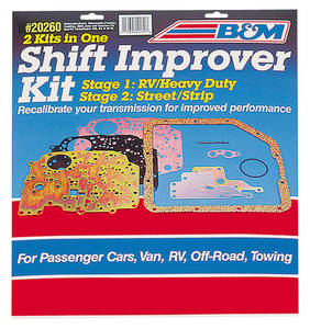 1964-1973 GTO Shift Improver Kit TH400, by B&M