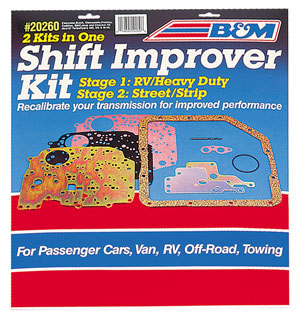 1961-73 GTO Shift Improver Kit 700-R4 & 4L60, by B&M