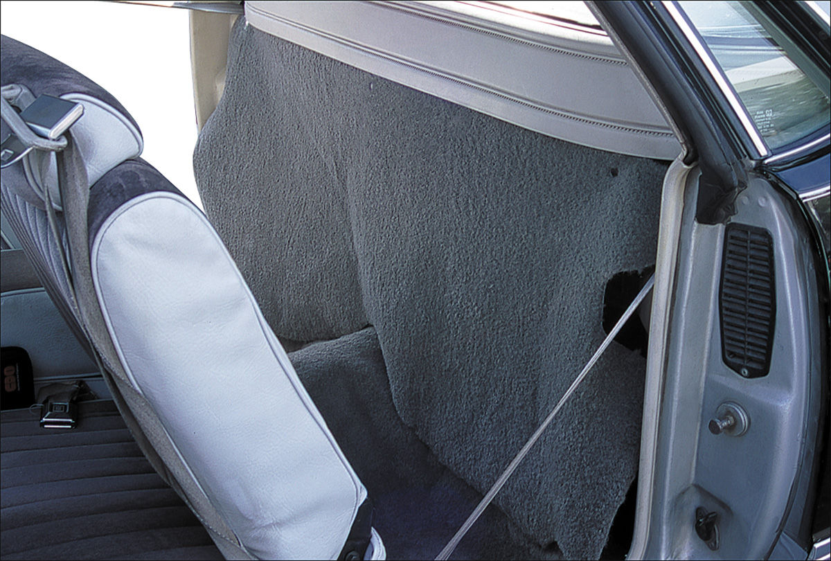 Photo of Cargo Curtain, Rear (El Camino)