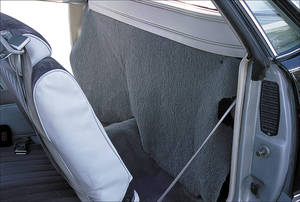 1978-1987 Cargo Curtain, Rear (El Camino)