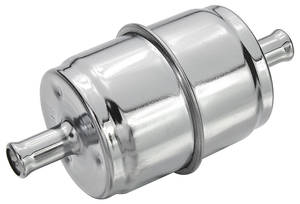 "1961-1971 Tempest Fuel Filter, Inline 3/8"" Hose Size, by Holly"