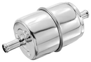 "1963-1976 Riviera Fuel Filter, Inline 5/16"" Hose Size, by Holly"