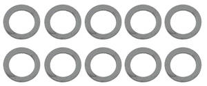 1964-77 Chevelle Fuel Bowl Accessories Fuel Bowl Plug Gaskets (10-Piece)