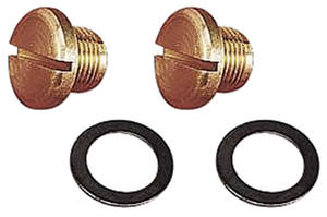 1964-77 Chevelle Fuel Bowl Accessories Fuel Bowl Plug (2-Piece)