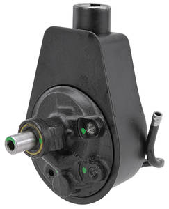 Malibu Steering Pump & Reservoir, Power (Remanufactured) 231 w/o AC (1979, 1st Design) 2-Hole Mount