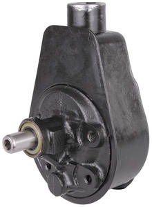 1978-79 El Camino Steering Pump & Reservoir, Power (Remanufactured) 2nd Design, 1-Hole Mount