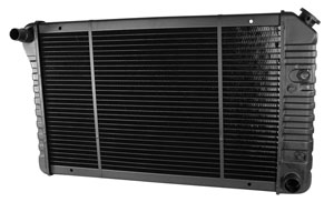 "1978-88 Malibu Radiator, Original Style V8, At 3-Row (17"" X 26-3/8"" X 2""), by U.S. Radiator"