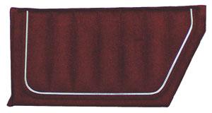 1986-88 Door Panels, Monte Carlo SS Rear