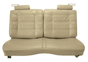 Seat Upholstery, 1978-80 Split-Back Bench Malibu Classic (Front/Rear) Cloth