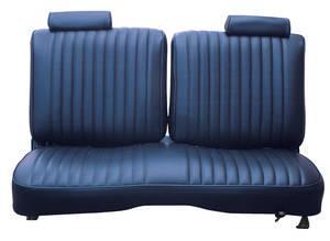 Seat Upholstery, 1981 El Camino Split-Back Bench El Camino Vinyl