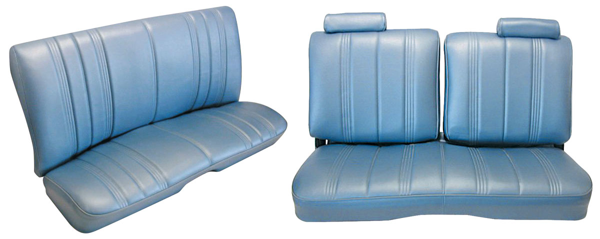 Photo of Seat Upholstery, Split-Back Bench Malibu 2-Door And Monte Carlo (Front/Rear) vinyl, w/o armrest, w/headrest