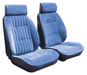 1984-88 Seat Upholstery, Reclining Bucket Monte Carlo (Front/Rear) Regal Cloth