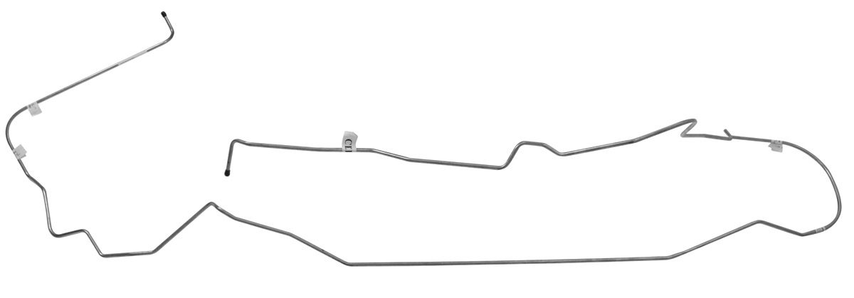 "Photo of Return Line, Fuel Vapor Monte Carlo - 5/16"" emission line, 1-pc."