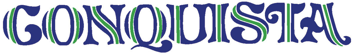 """Photo of Tailgate Decal, El Camino """"Conquista"""" blue/lime"""