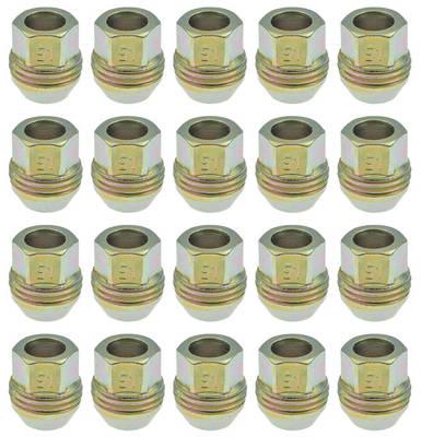 1982-1988 El Camino Lug Nuts & Caps 20pc M12x1.5