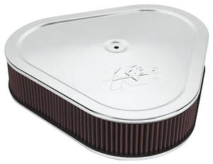 "1961-1977 Cutlass Air Cleaner Assembly, 14"" Triangle"