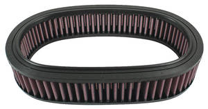 "1959-77 Bonneville Air Cleaner Element, Oval 11-1/2"" X 8"" X 2-1/2"""