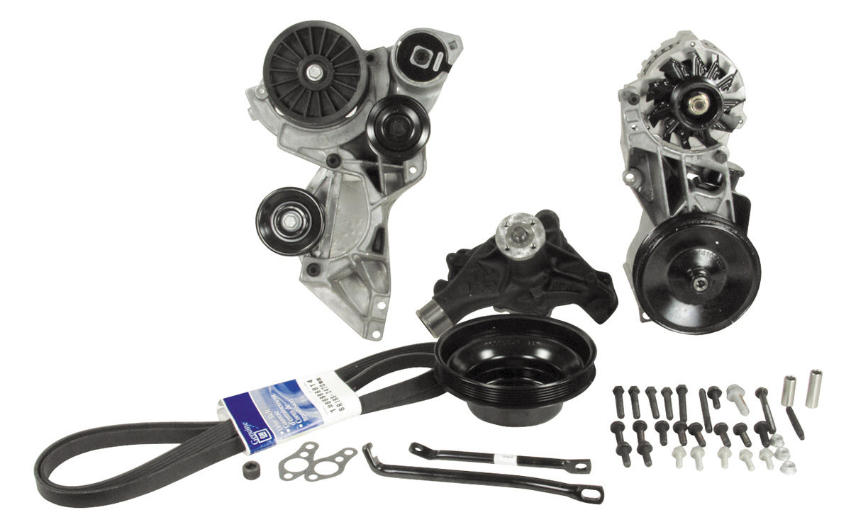 Photo of Chevelle Serpentine Drive System Conversion, Small-Block deluxe w/AC