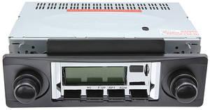 1978-85 Malibu Stereo, Vintage Car Audio 100 Series, Black