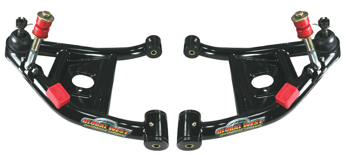 Photo of Control Arms, Lower (For Coil-Over Shocks) w/polyurethane