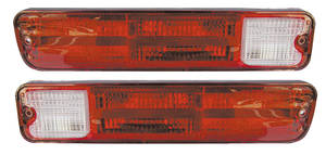Tail Light Lenses, 1979-87 El Camino/1979-83 Wagon, by RESTOPARTS
