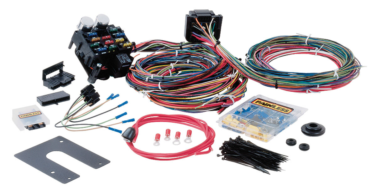 Magnificent Painless Universal Wiring Harness Basic Electronics Wiring Diagram Wiring Cloud Oideiuggs Outletorg