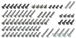 1978 Interior Screw Sets Malibu 2-dr. Hardtop (75-Piece)