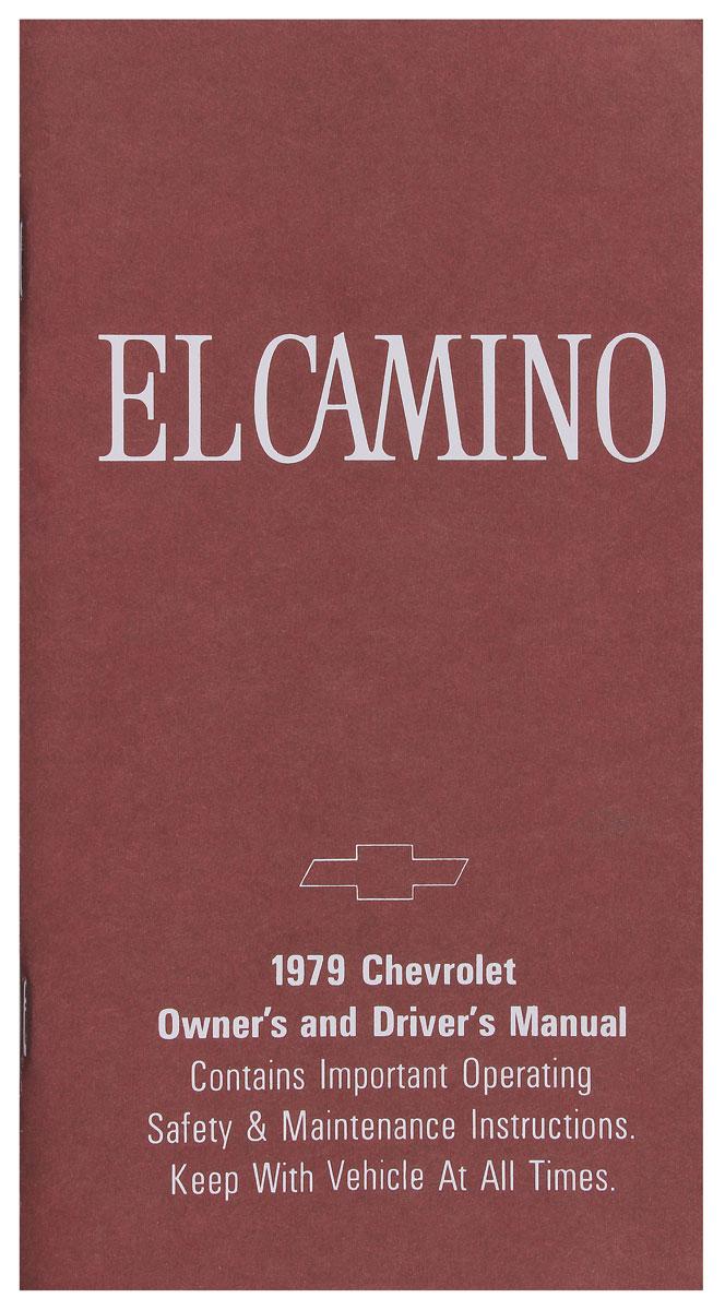 Photo of Authentic Owner's Manuals El Camino