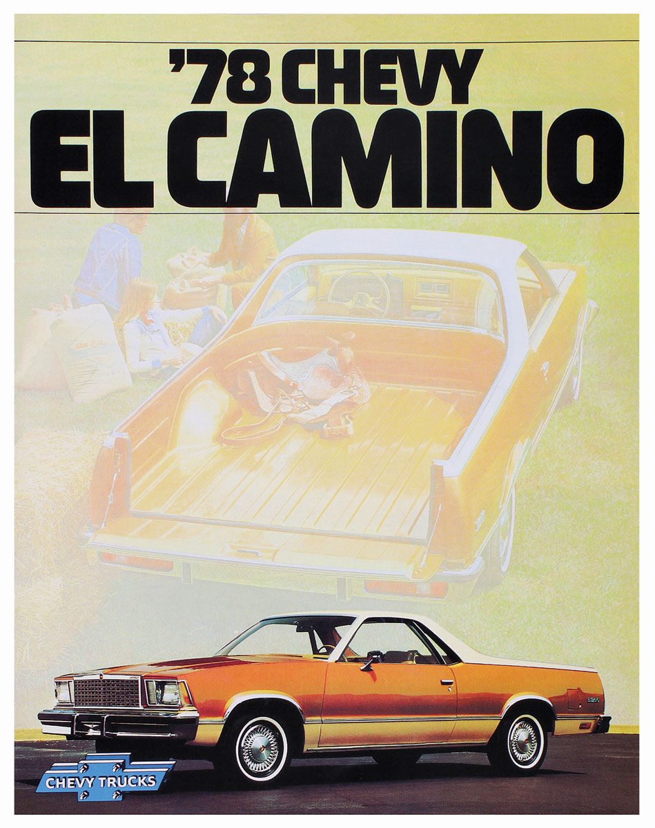 Photo of Sales Brochure, 1978 El Camino