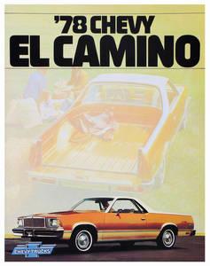 Sales Brochure, 1978 El Camino
