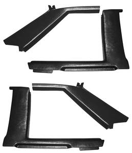 1978-81 Quarter Panel Interior Moldings, Upper Landau - Malibu