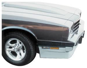 1981-1988 Monte Carlo Spoiler, Front (1981-88 Monte Carlo)