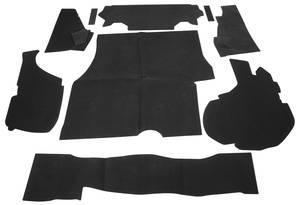 1981-1988 Monte Carlo Trunk Dress-Up Kit (Monte Carlo - Nine-Piece)