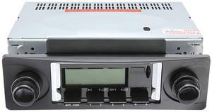 1978-85 Malibu Stereo, Vintage Car Audio 300 Series, Black
