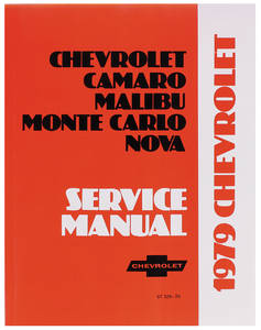 1979-1979 Monte Carlo Chassis Service Manual